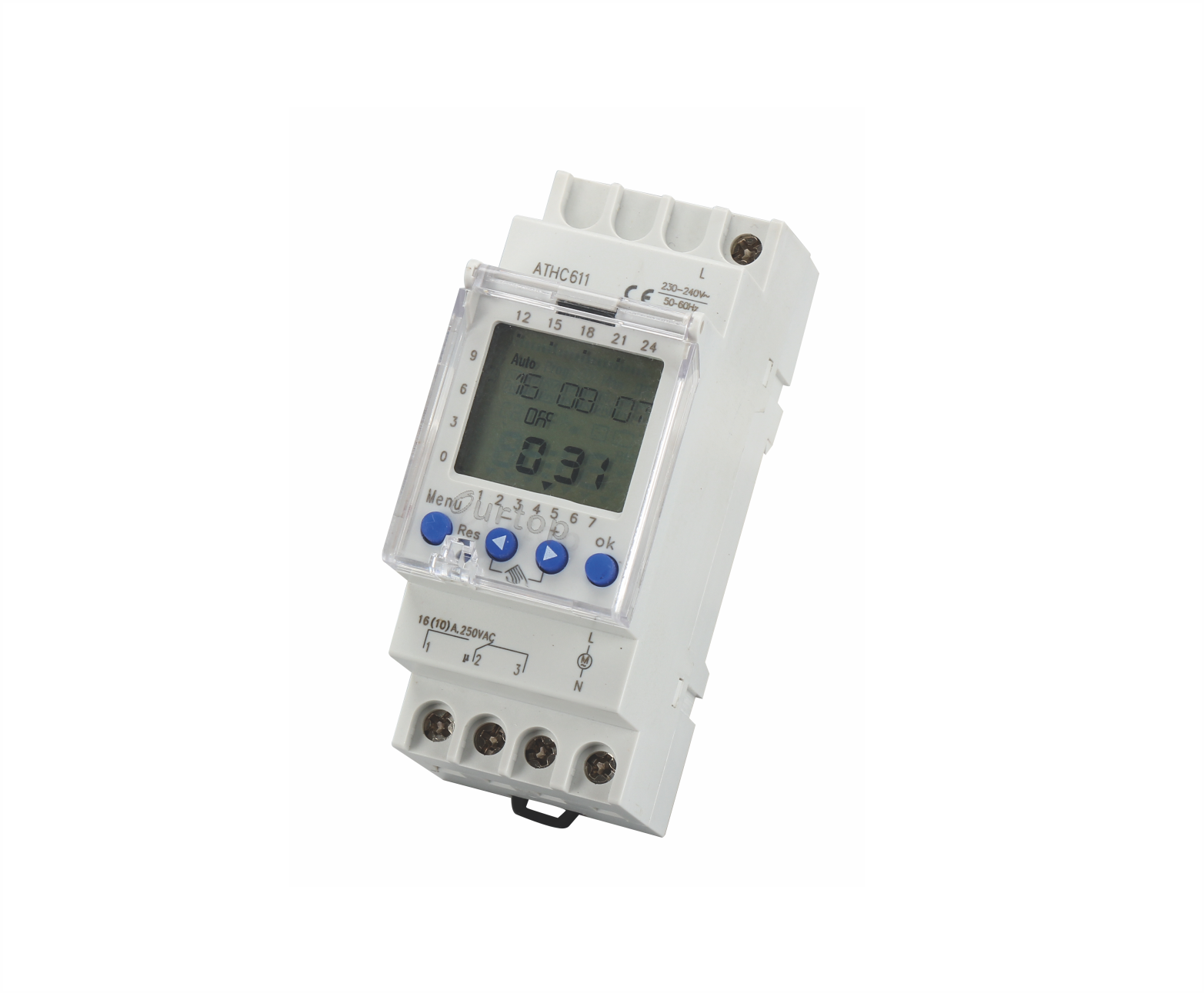 ATHC611 Digital Programmable Time Switch