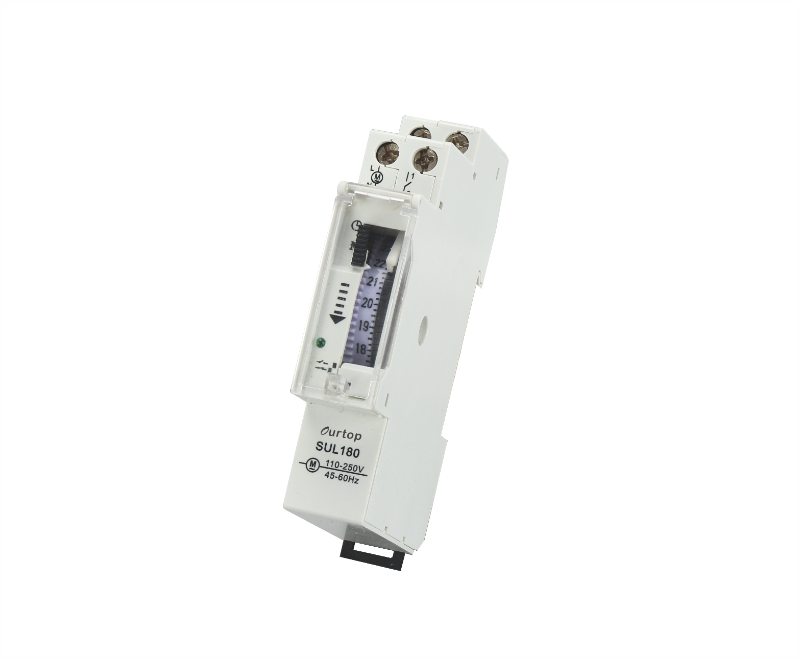 Analogue time switch 1 Module Din Rail