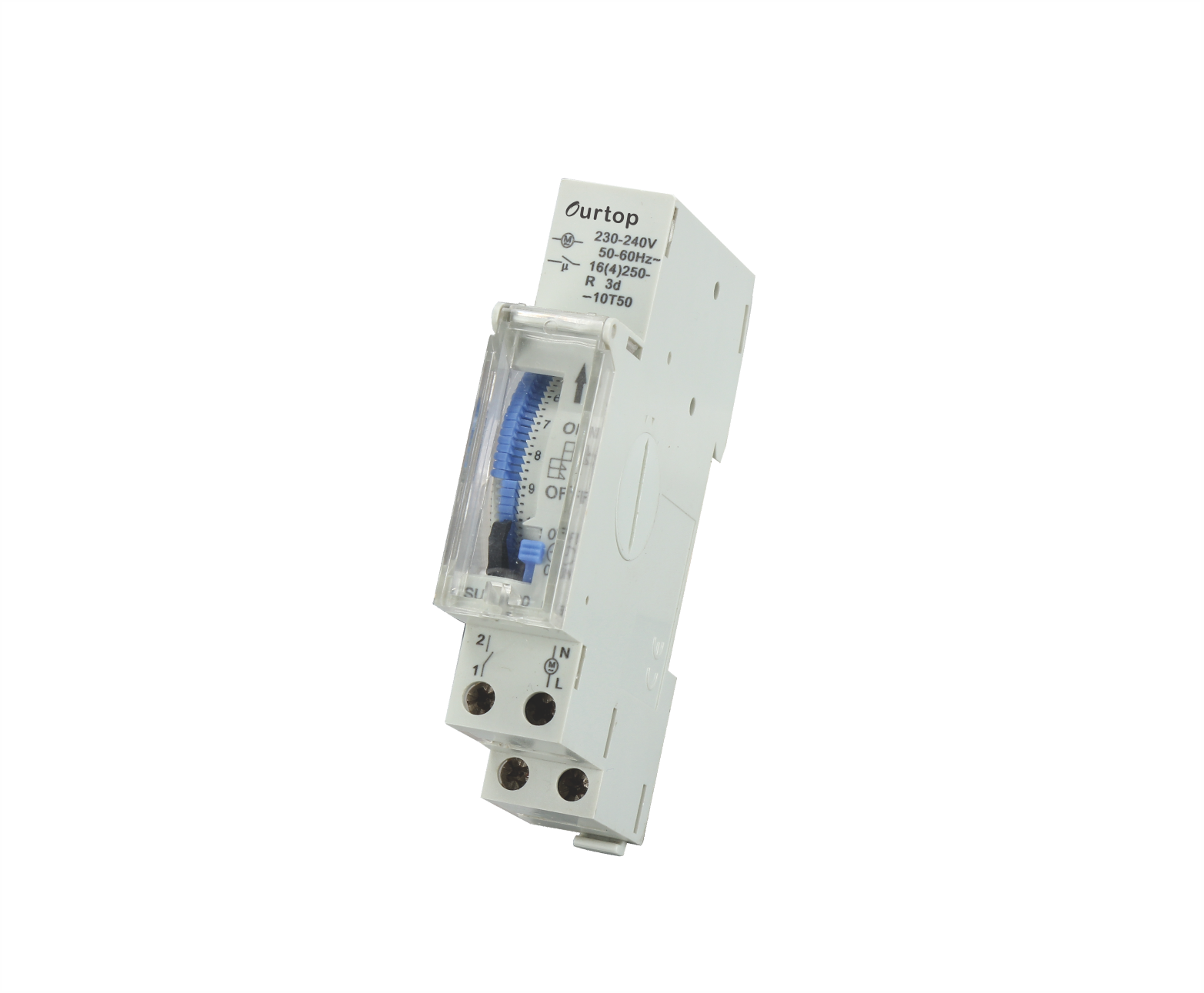 Mechanical Programmable Timer Switch 1 Module Din Rail