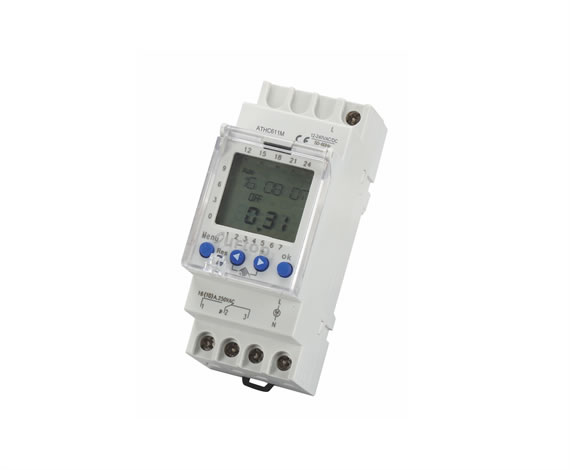 ATHC611M Digital Programmable Time Switch Multi-Voltage