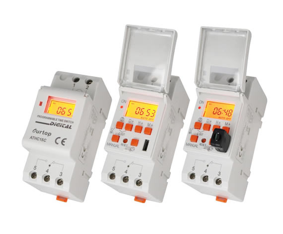ATHC15C Digital Programmable Timer Switch